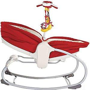 Cadeira de Balanço Rocker Napper 3 em 1 Vermelho Tiny Love