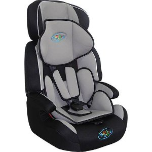 Cadeira para Auto Cometa 9 a 36kg Preta e Cinza - Baby Style