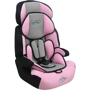 Cadeira Para Auto Baby Style 9 A 36 Kg- Rosa