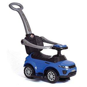 Carrinho Andador Passo a Passo Sport Car C/ haste - Azul