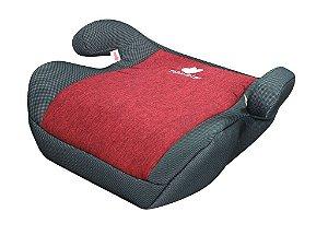 Assento de elevação Booster Capri - 22/36Kg - Vermelho - Mastela