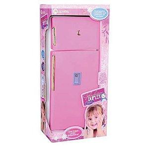 Geladeira Duplex- Infantil - Rosa - Lua de Cristal