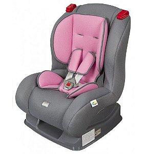 Cadeira para auto - Atlantis - Cinza / Rosa - Tutti Baby