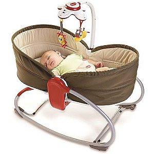 Cadeira de Balanço Rocker Napper - 3 em 1 Marrom Tiny Love
