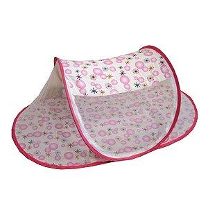 Berço Mosquiteiro  Portátil Infantil -  Color Baby - Rosa