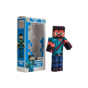 Boneco Adventure Mob - Youtubers - ZR Toys
