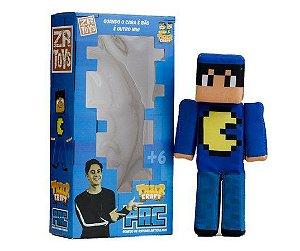 Boneco Tazercraft Pac - Youtubers - ZR Toys