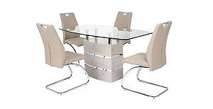mesa de jantar fixa