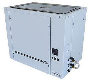 Banho Ultratermostático: Faixa de temperatura: - 20ºC à 100ºC