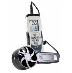 Termo-Higroanemômetro com Sonda Externa - AK832