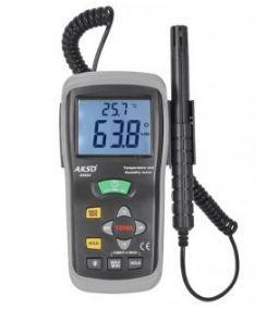 Termo-Higrômetro Portátil com Sonda - AK625
