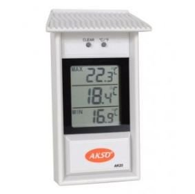 Termômetro Digital de Máxima e Mínima; Faixa de Medição: -10 à 50°C; AK23