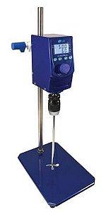 Agitador Mecânico Digital; 2500 RPM; Capacidade de agitação: até 30 Litros; 220V