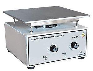Agitador Magnético Analógico sem Aquecimento; Capacidade: 10 Litros; RPM 0 à 3000; 350W