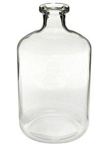 Garrafão de vidro borosilicato para soluções; rolha nº 16
