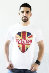 Camiseta Beatles Branca