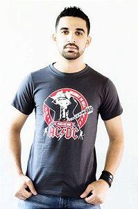 Camiseta ACDC Cinza
