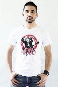 Camiseta ACDC Branca