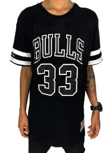 Camiseta Chicago Bulls Mitchell & Ness Pippen 33 (M370A)