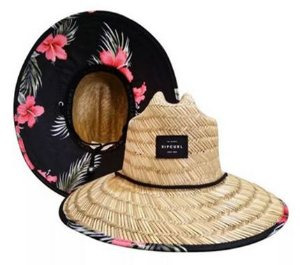 Chapéu De Palha Rip Curl Maui Straw Natural + Nf (chaef119)