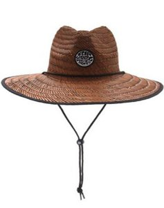 Chapéu Rip Curl Wetty Straw Hat Brown - CHADK119