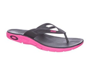Chinelo Oakley Rest 2.0 Neon Pink - 10193BR-496