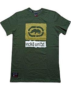 Camiseta Ecko Logo Grande  Verde - E893A