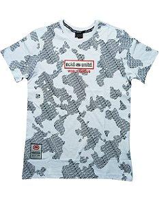 Camiseta Ecko Com Mines Logo - E919A