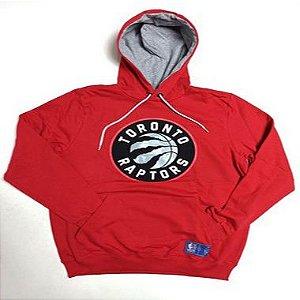 Moletom NBA Toronto Raptors Canguru Fechado