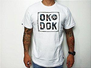 Camiseta Okdok Logo Peito Clássic