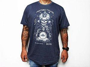 Camiseta Okdok Masculina Caveira Fortune Teller