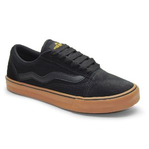 Tênis Mad Rats Old School Preto / Crepe