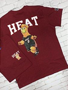 Camiseta NBA Estampa Mascote HFAT (N238A)