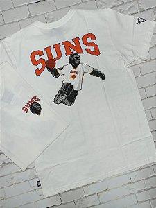 Camiseta NBA Estampa Mascote SUNS (N240A)