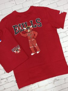 Camiseta NBA Estampa Mascote CHICAGO BULLS (N237A)