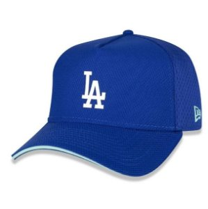 Bone 9forty A-frame Mlb Los Angeles Dodgers Neon Id High Aba Curva Snapback Royal New Era