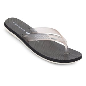 Chinelo Kenner Summer Glass Sunset  Masculino Preto e Transparente - HJD-01