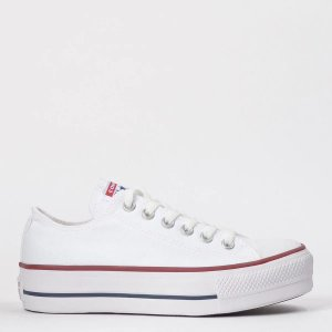 TÊNIS CONVERSE CHUCK TAYLOR ALL STAR PLATFORM OX BRANCO CT04950003