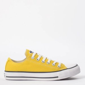 Tênis Converse Chuck Taylor All Star Seasonal Ox Amarelo Vivo CT04200034