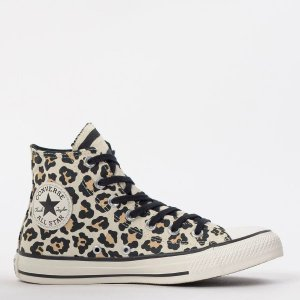 Tênis Converse Chuck Taylor All Star Animal Print Hi Bege Amendoa CT13070001