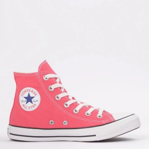 Tênis Converse Chuck Taylor All Star Seasonal Hi Carmim CT04190042
