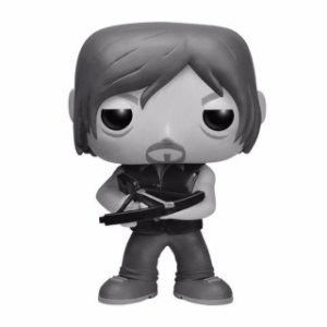 Funko Pop! - Daryl Dixon - Exclusivo - Preto & Branco