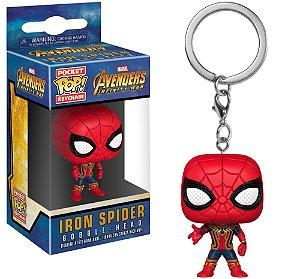 Pocket POP! Chaveiro - Iron Spider - Vingadores Guerra Infinita