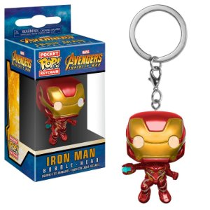 Pocket POP! Chaveiro - Iron Man - Vingadores Guerra Infinita