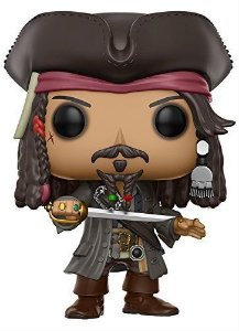 Funko Pop! - Jack Sparrow - Piratas do Caribe #273