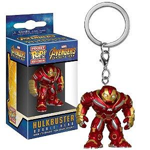 Pocket POP! Chaveiro - Hulkbuster - Vingadores Guerra Infinita