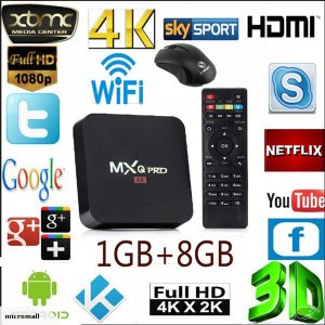 Smart TV Box Android 6.0 MXQ 4K PRÓ