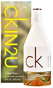 CKIN2U for Her Calvin Klein Eau de Toilette - Perfume Feminino