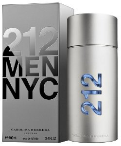 212 Men Carolina Herrera Eau de Toilette - Perfume Masculino
