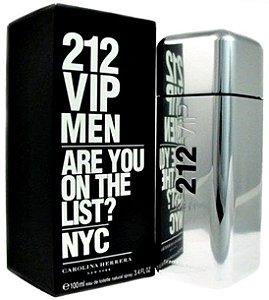 212 VIP Men Carolina Herrera Eau de Toilette - Perfume Masculino